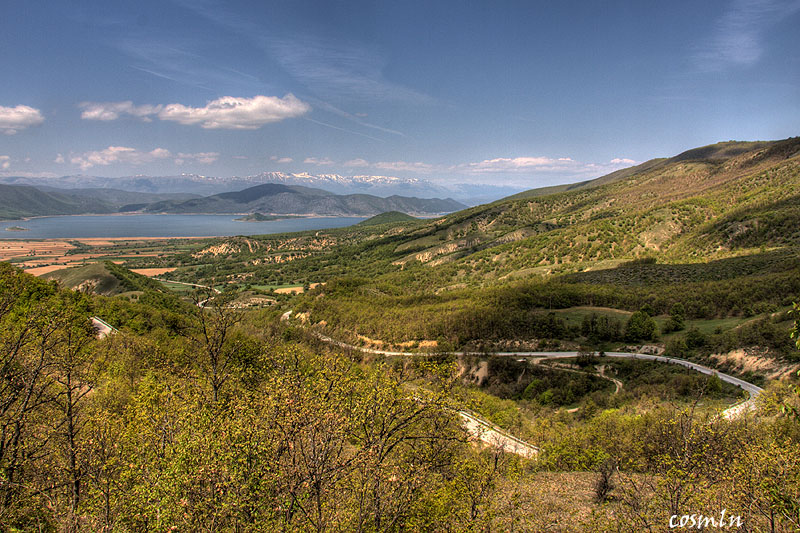 view over Prespa
