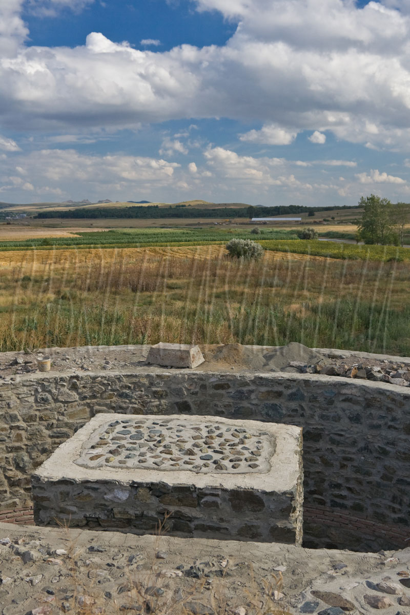 Ruins at Dinogetia