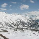 în Pasul Bernina