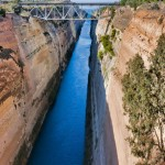 Canalul Corint, foto: Gabriela Însurățelu